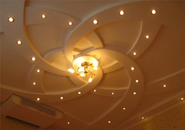 Потолок из гипсокартона в Астрахани